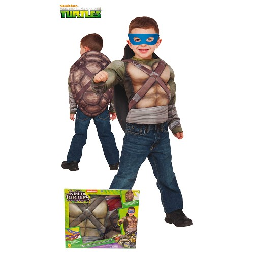 Costume Chest musculaire Tortugas Ninja 2 Enfants