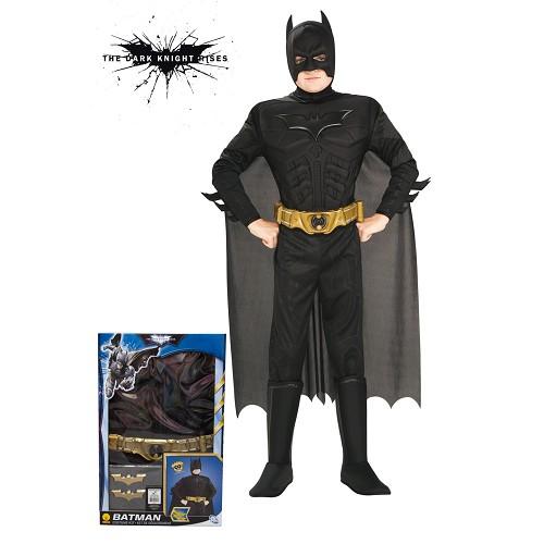 Rises Batman costume Tdk musculaire Sécurité des enfants
