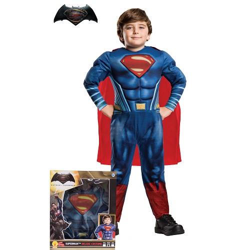 Superman costume Doj musculaire Sécurité des enfants