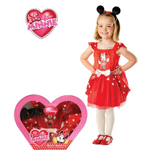 Minnie Mouse costume Ballerina In Box