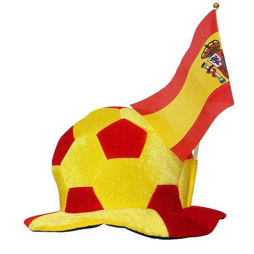 Ballon chapeau Espagne C / fanion