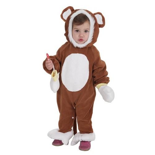 Disfraz Bebe Monito Marrón (0 a 12 meses)