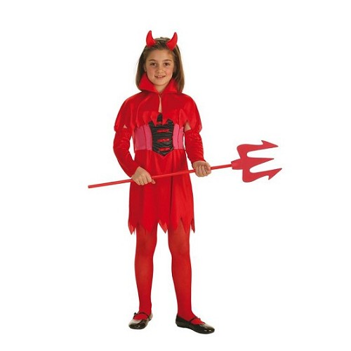 Disfraz Infantil Diablilla Roja