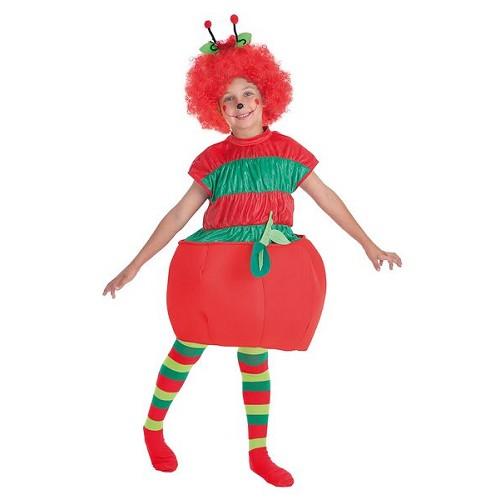 Pour enfants costumes ver et Apple