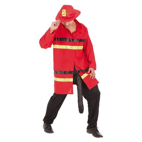 Disfraz Bombero Manguera Adulto