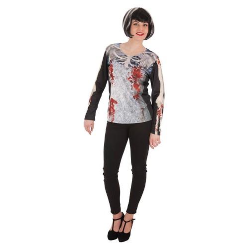 Disfraz Camiseta Novia Cadaver Adulto