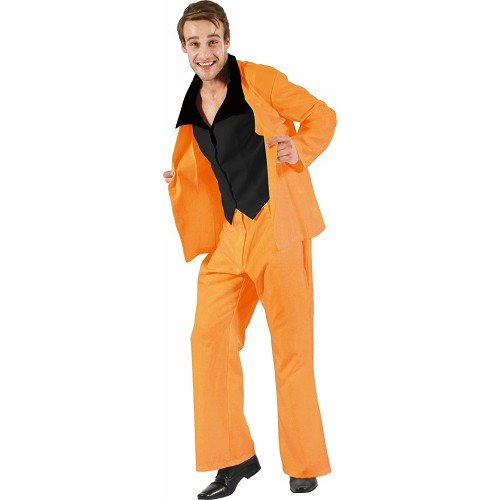 Disfraz Suits Orange Adulto