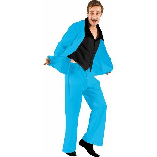 Disfraz Suits Blue Adulto
