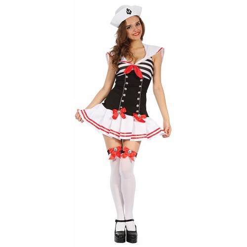 Disfraz Sexy Marinera Sailor Adulto