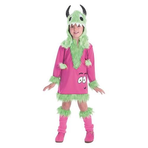 Costume enfant de Mimosa monstre vert
