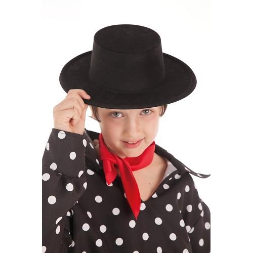 Sombrero Cordobes Negro Mediano