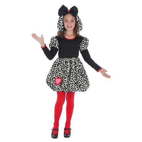 Fille de coeur dalmate costumes pour enfants