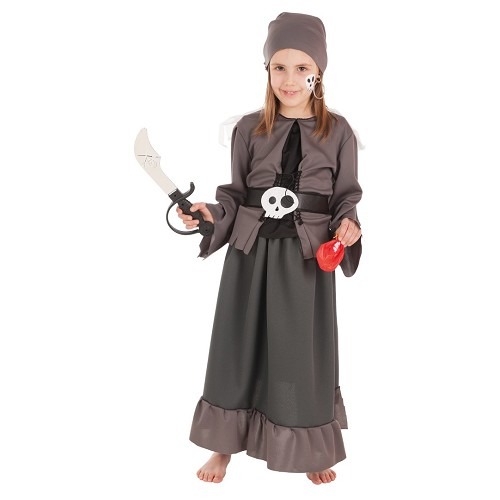 Costume enfant pirate Skelet jeune fille