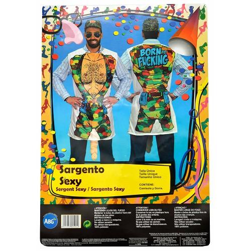 Disfraz de Sargento Sexy