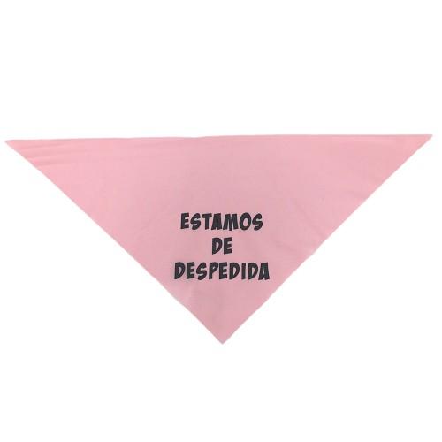 Pañuelo Rosa Estamos De. . . . .rosa