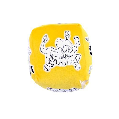 Dado Erótico Pequeño Amarillo 11 cm