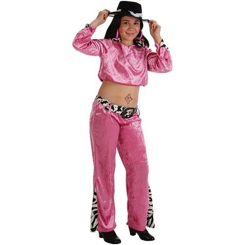 Costume de la chanteuse Pink girl