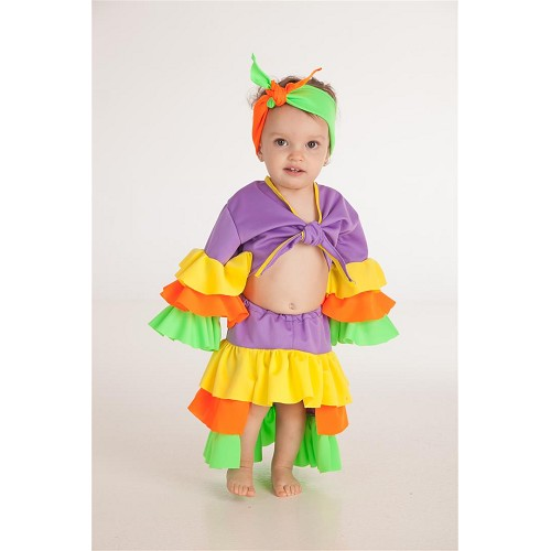 Disfraz Cubana Varadero (1-2 Años)