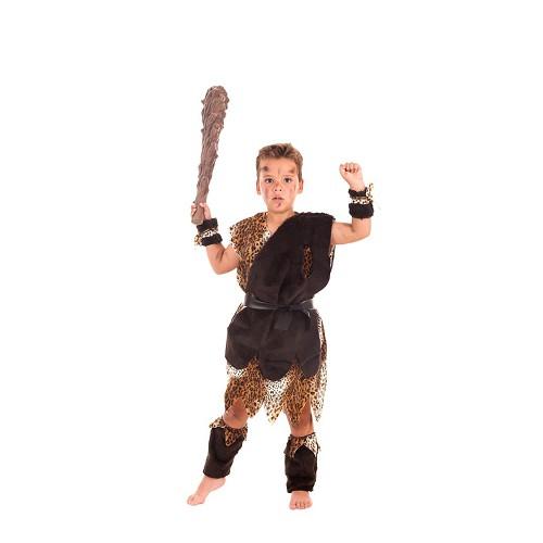 Disfraz Cavernícola Marrón Niño Infantil