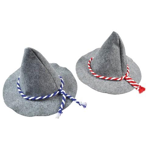 Sombrero Alemán Fieltro Gris