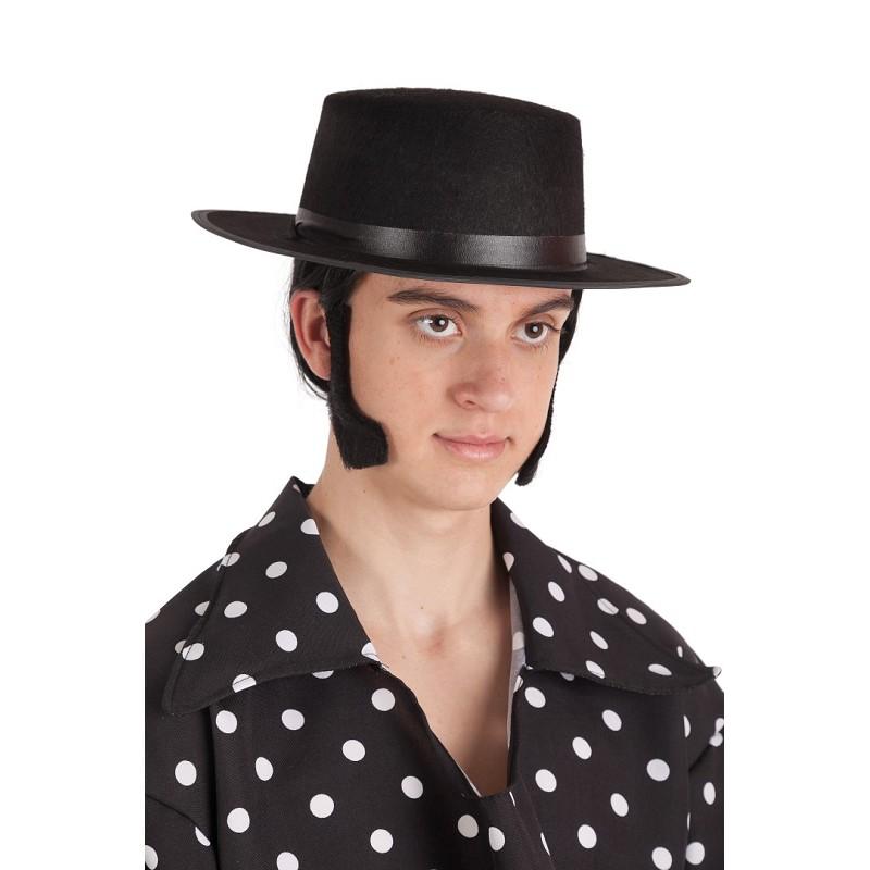 Sombrero Cordobes Negro Grande