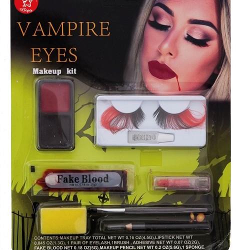 Vampira maquillage en Septembre