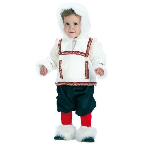 Costume enfant esquimau de bébé (0-12 mois)