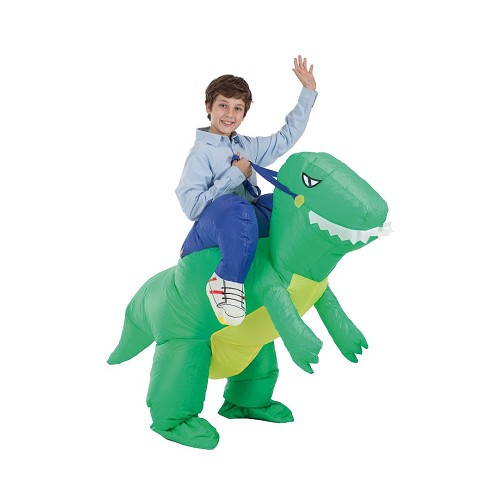 Costume gonflable Dino et Domador