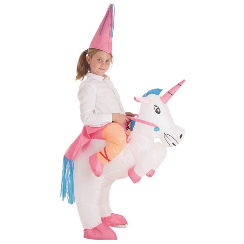 Gonflable licorne Princesse Costume
