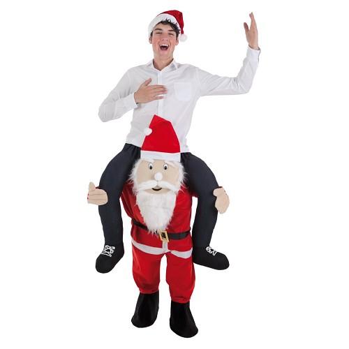 Disfraz Papá Noel Adulto con Jinete