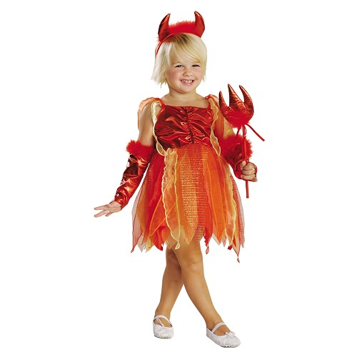 Daemonette Costume Little Girl