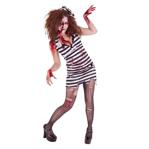 Disfraz Prisionera Zombie Adulto