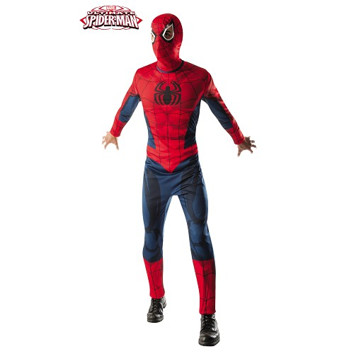 Spiderman Ultimate Musculoso Adulto