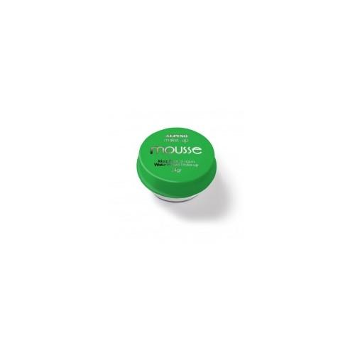 Maquillaje Mousse Verde