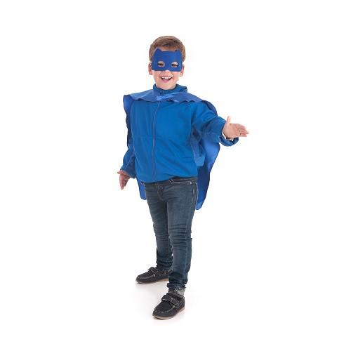 Disfraz Capa Mask Azul
