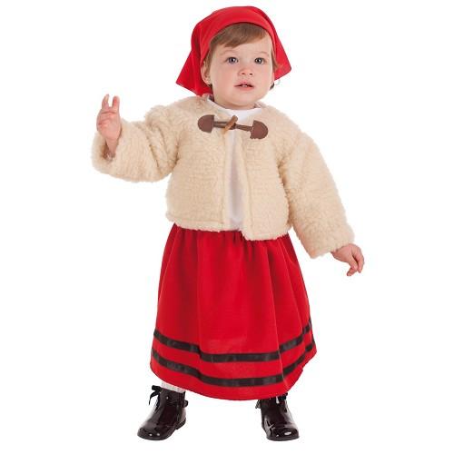 Disfraz Pastora Abrigo Bebe (0 a 12 meses)