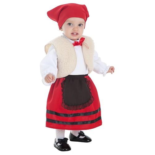 Disfraz Pastora Chaleco Bebe (1-2 Años)