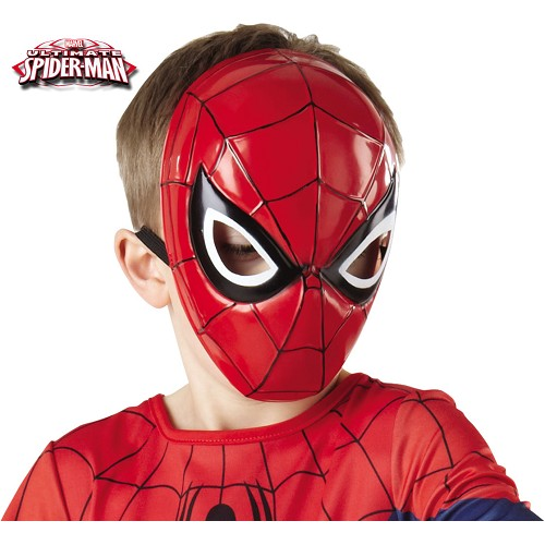 Mascara Spiderman 1/2 Infantil