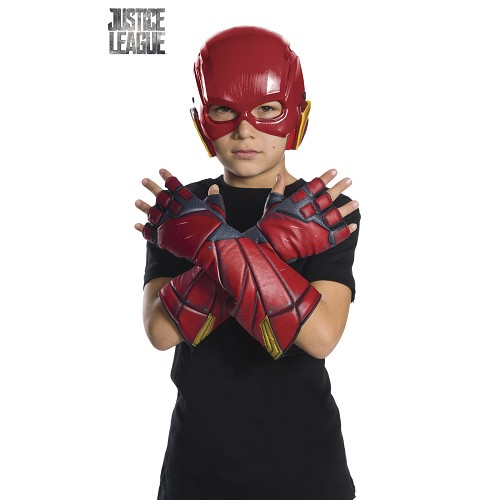 Guantes Flash Jl Movie Infantil + 6 Años