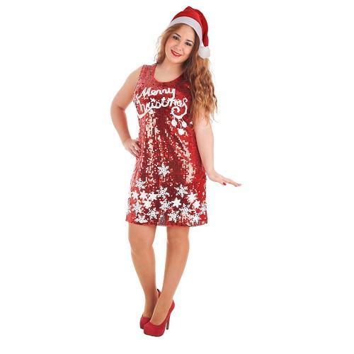 Disfraz Adulto Vestido Merry Christmas