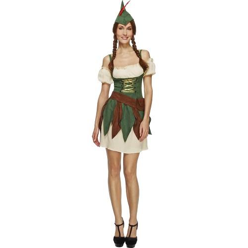Disfraz Guerrera Bosque Sexy Adulto