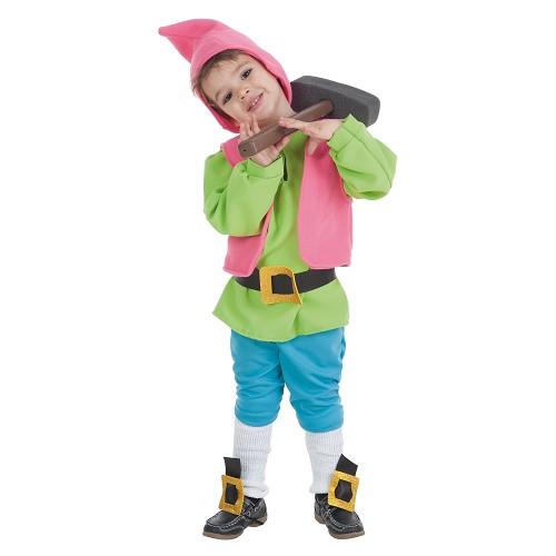 Costume d'Inf. Nain vert