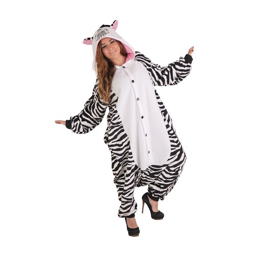 Disfraz Pijama Zebra T-L