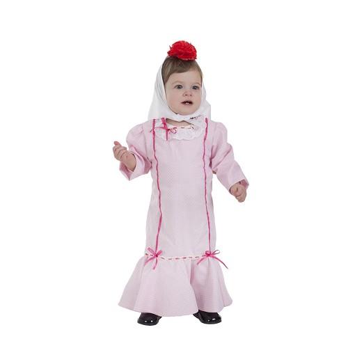 Disfraz Chulapa Rosa (1 a 2 Años)