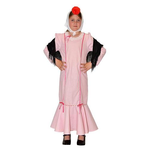 Disfraz Chulapa Rosa Infantil