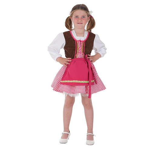 Costume de fille de verrière