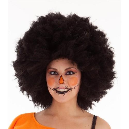 Peluca Mega Afro Negra