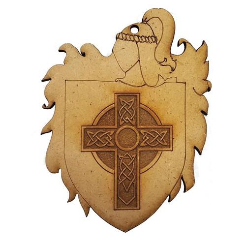Escudo Armadura Madera
