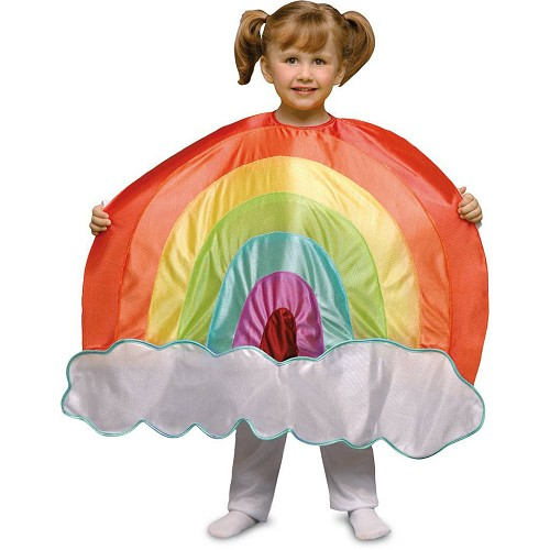 Disfraz Arco Iris Y Nube Infantil