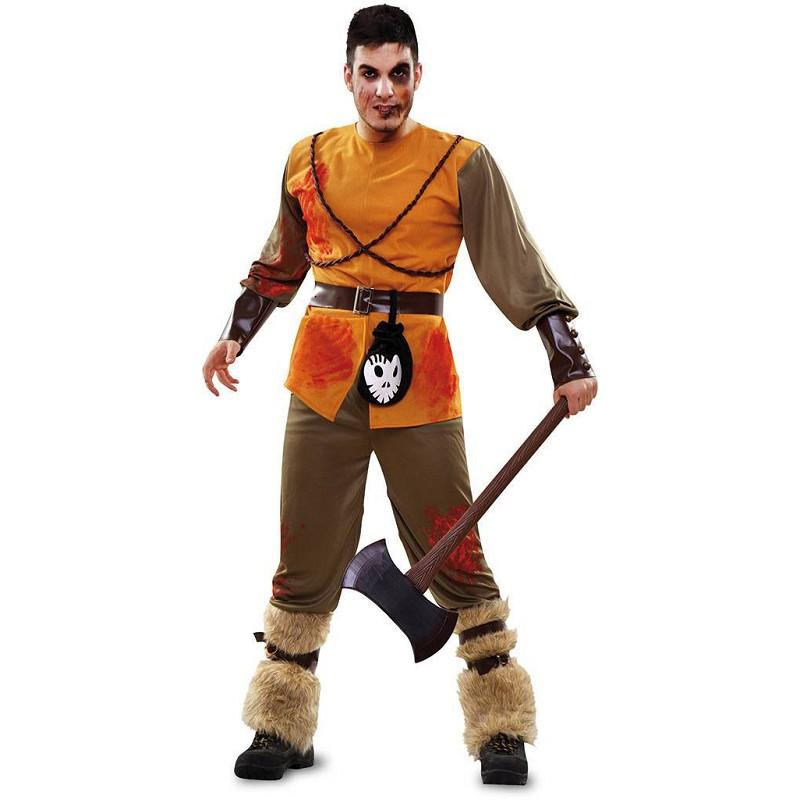 Disfraz Cazador Cuento Zombie Adulto